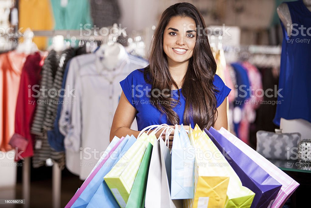 The whole store is on sale! royalty-free stock photo