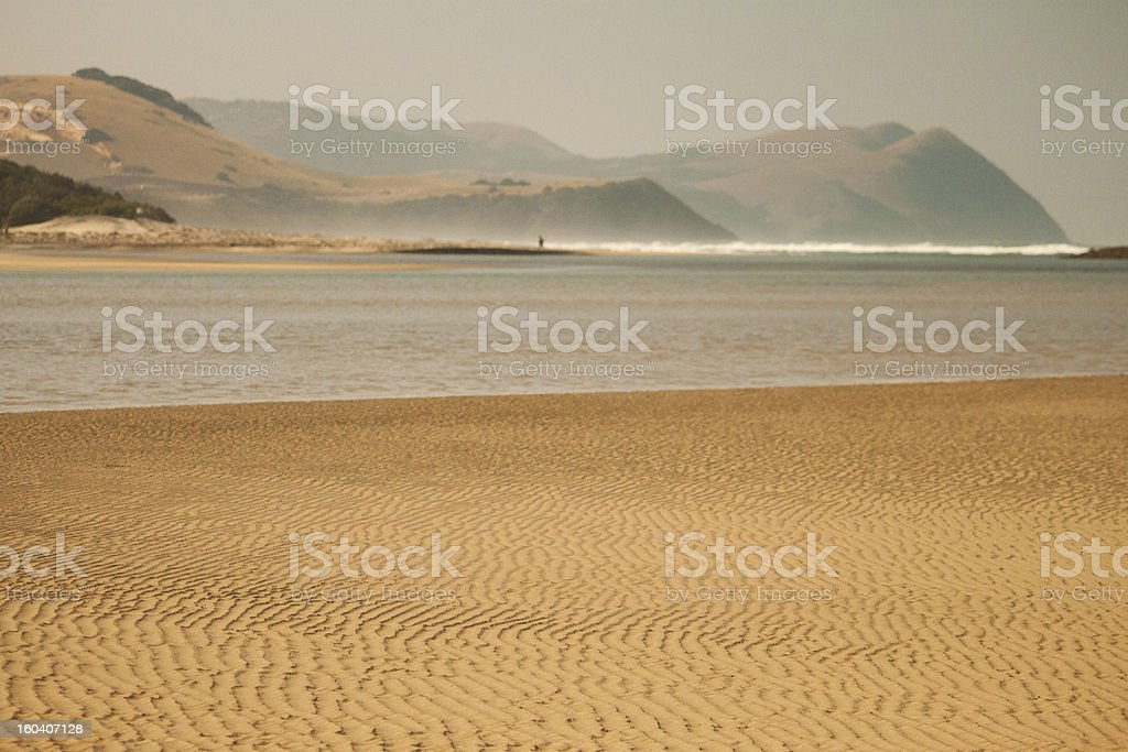 The Wild Coast of South Africa stock photo