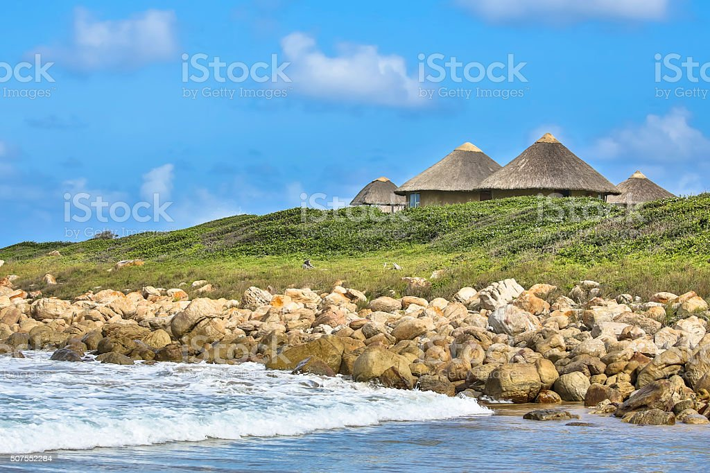 The Wild Coast stock photo