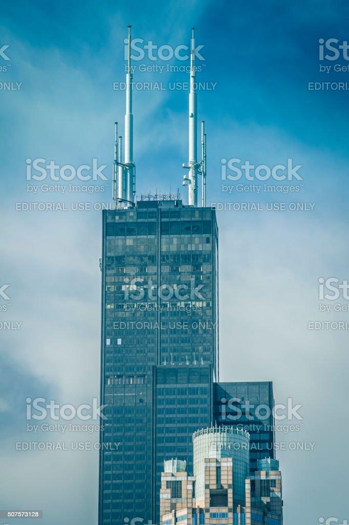 The Willis Tower, Chicago, Illinois stock photo