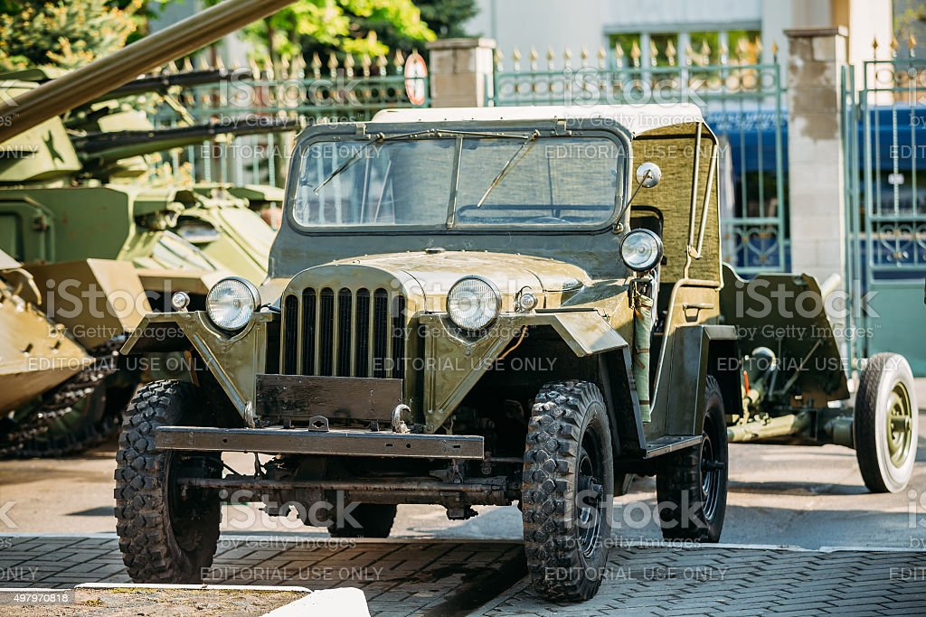 The Willys MB (Jeep,  U.S. Army Truck, 4x4) stock photo