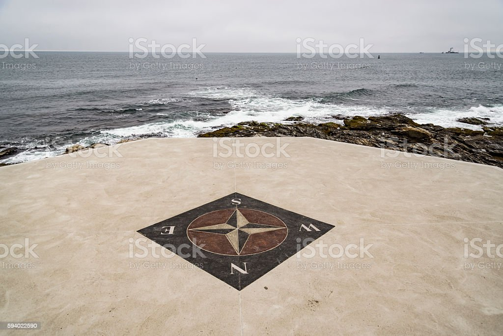 The wind rose stock photo