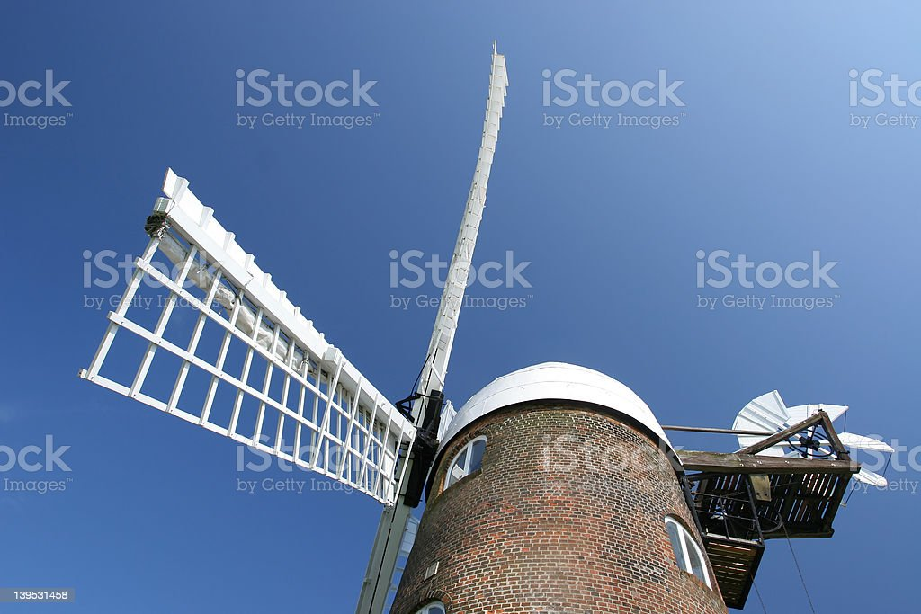 The Windmill royalty-free stock photo