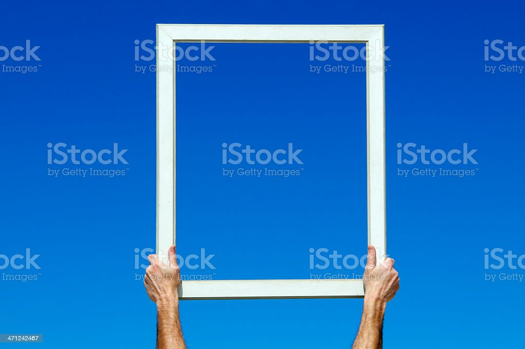 The Window of Opportunity.Copy Space royalty-free stock photo