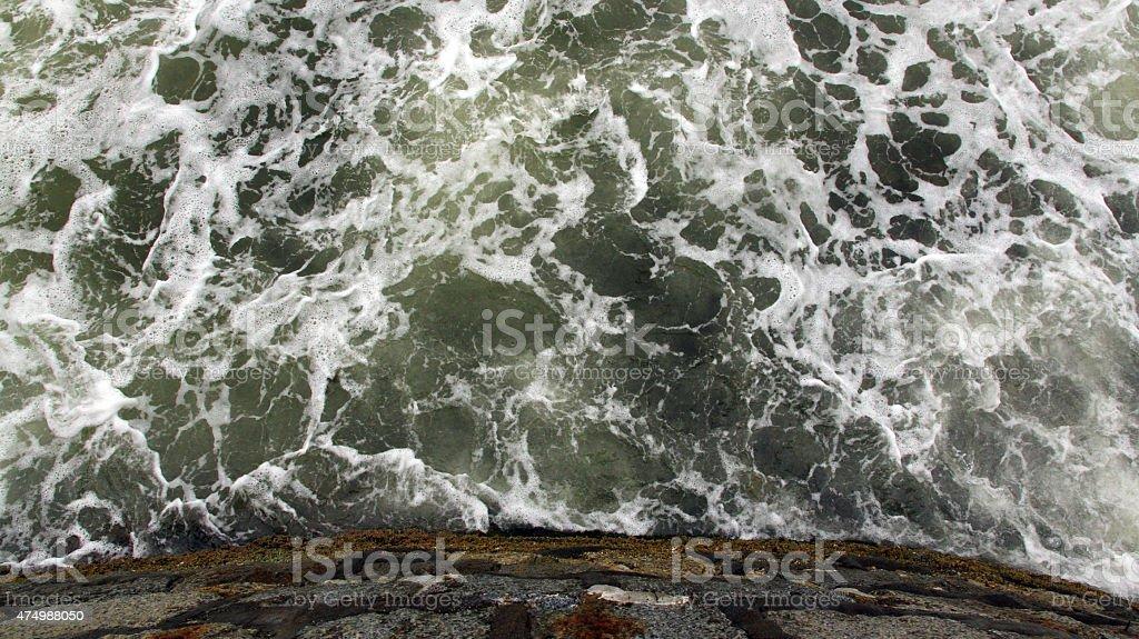 The Wine Dark Sea stock photo