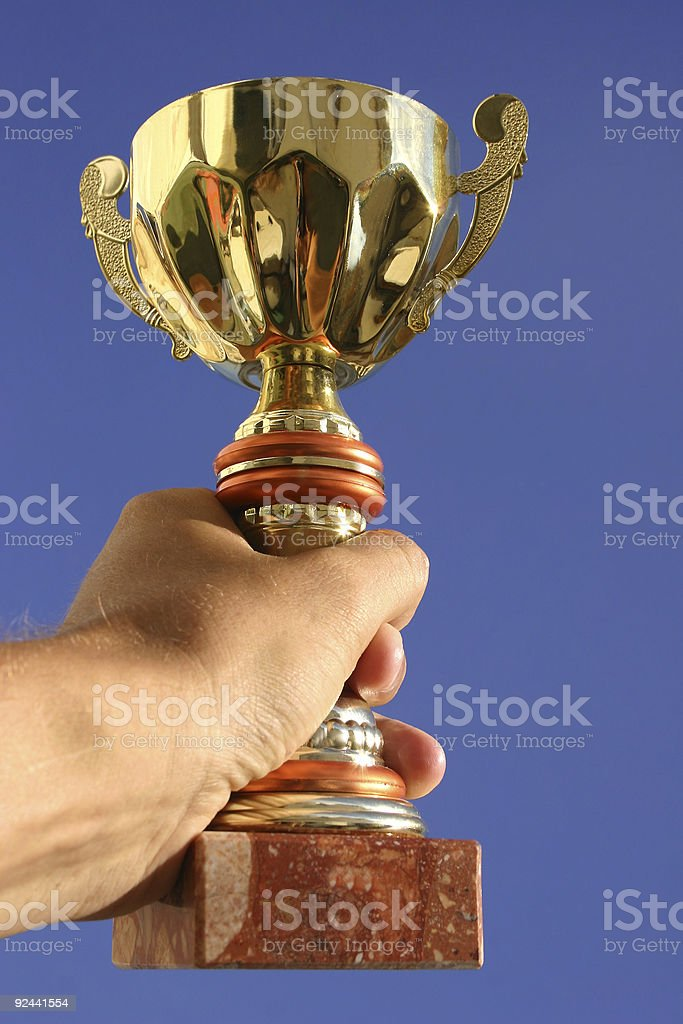 The Winner royalty-free stock photo