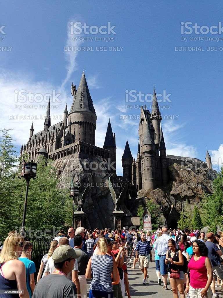 The Wizarding World of Harry Potter stock photo