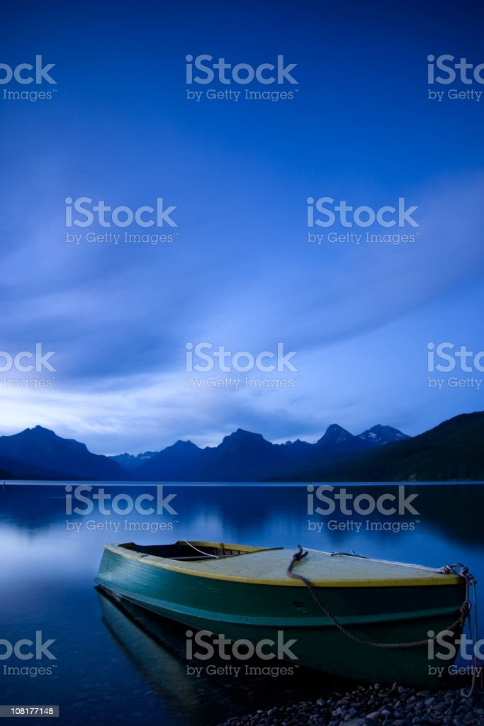 The World at Rest stock photo