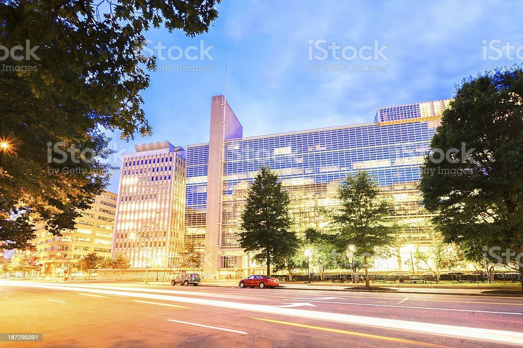 the World Bank, Washington DC stock photo
