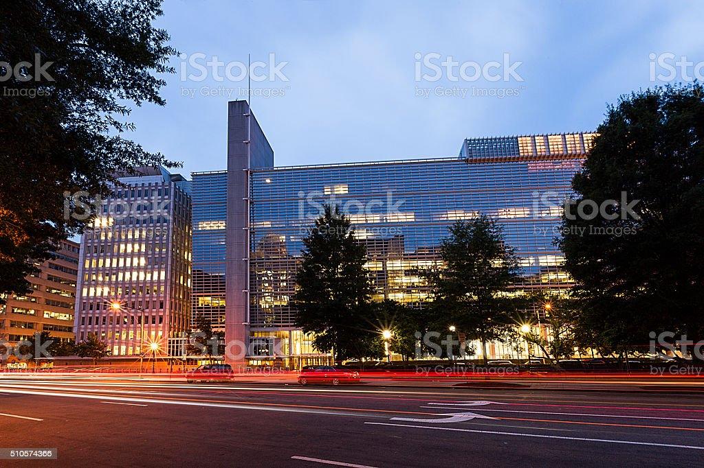 The World Bank, Washington DC stock photo
