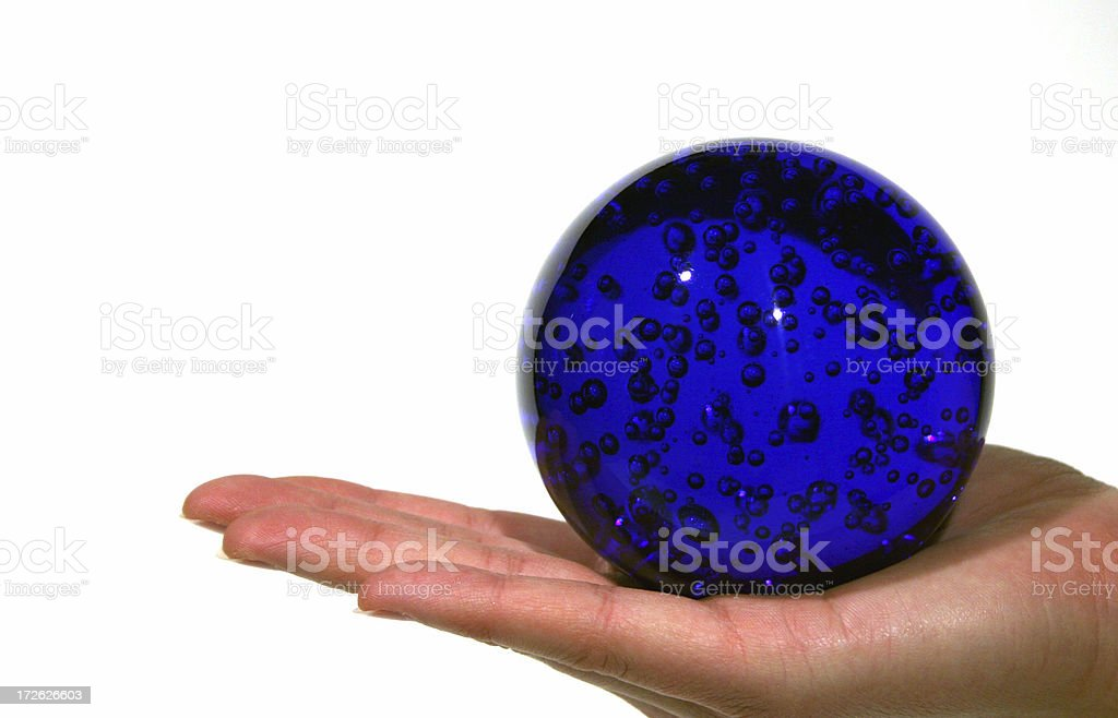 The world in your hands stock photo