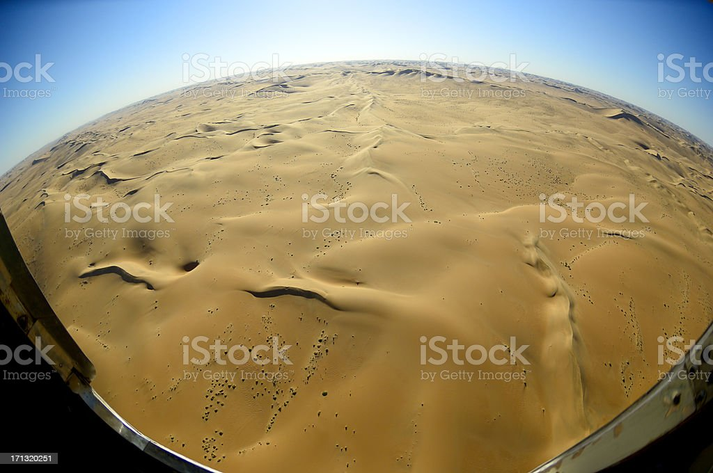 The world is a desert stock photo