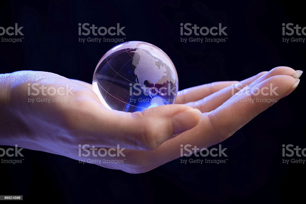 The World Is Yours royalty-free stock photo