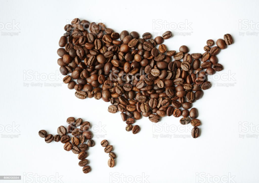 The World Of Coffee stock photo