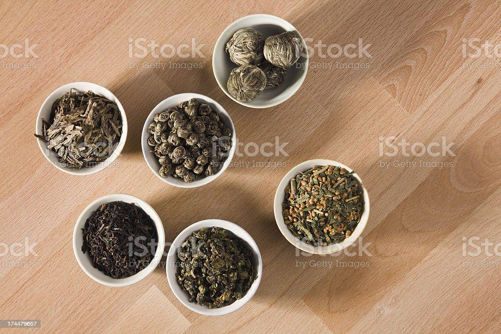 The World of Tea royalty-free stock photo