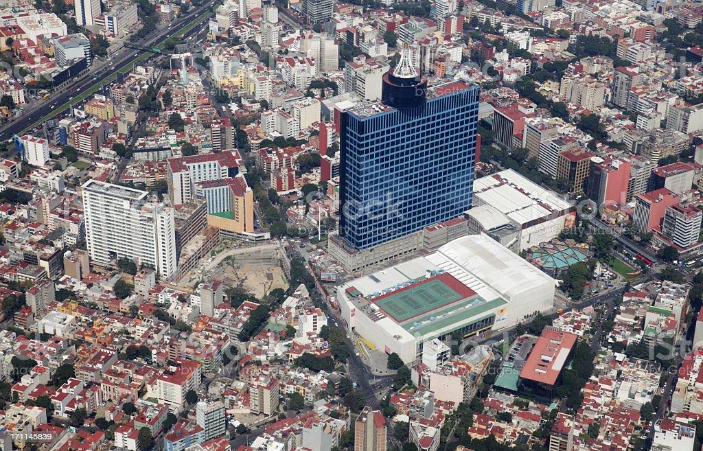 The World Trade Center in Mexico City stock photo