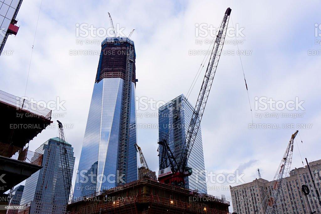 The World Trade Center New York stock photo