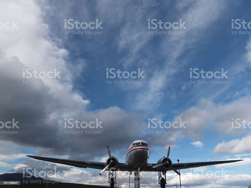 CF-CPY The World's Largest Weather Vane stock photo