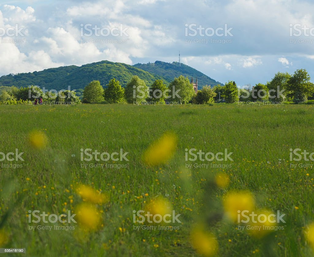 The Wrekin - Shropshire stock photo