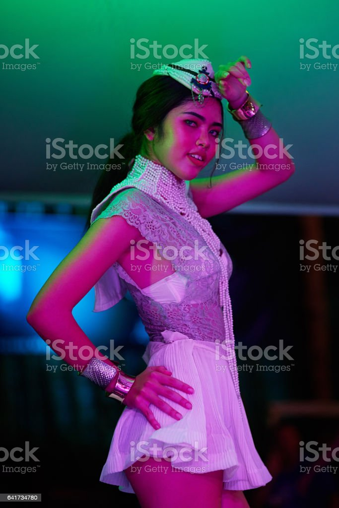 The wrong kind of nightlife stock photo