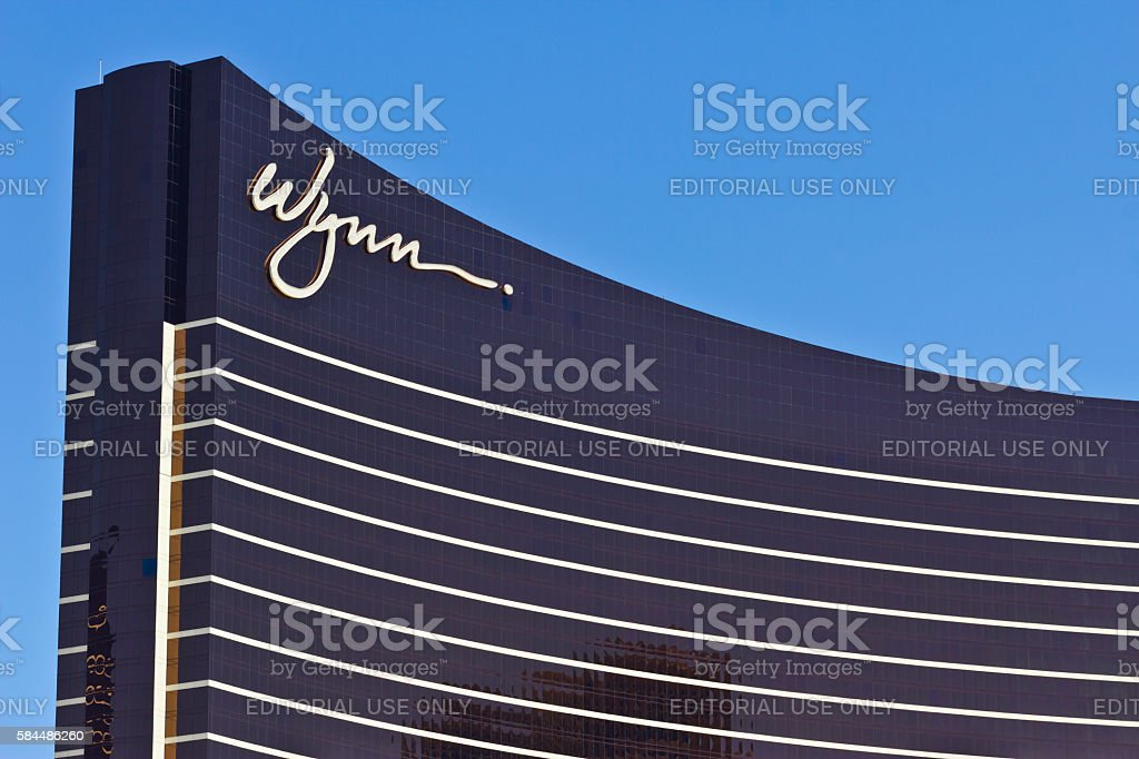 The Wynn Las Vegas on the Strip I stock photo