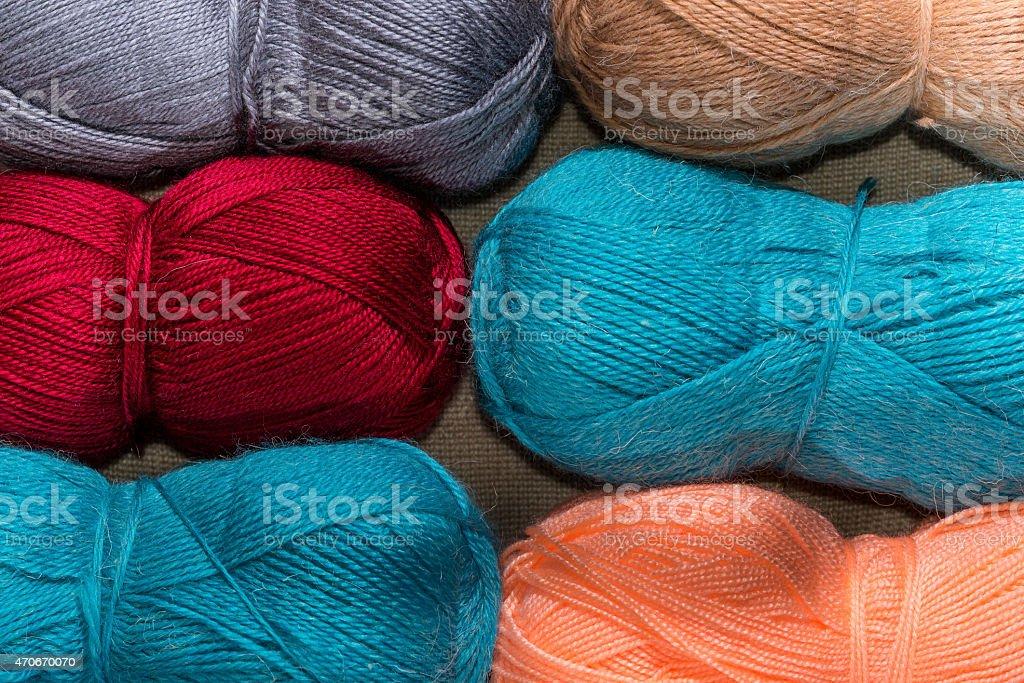 the yarn stock photo