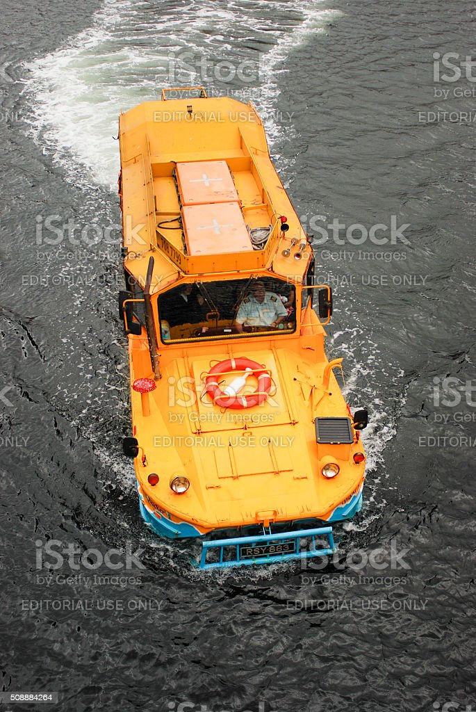 The Yellow Duckmarine stock photo