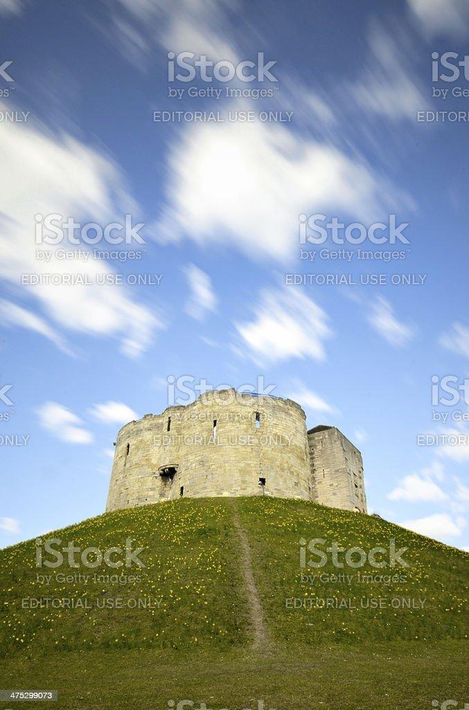 The York Castle. stock photo