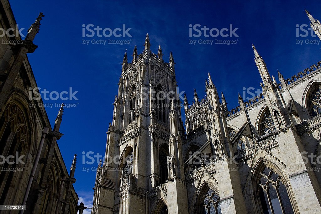 The York Minster royalty-free stock photo