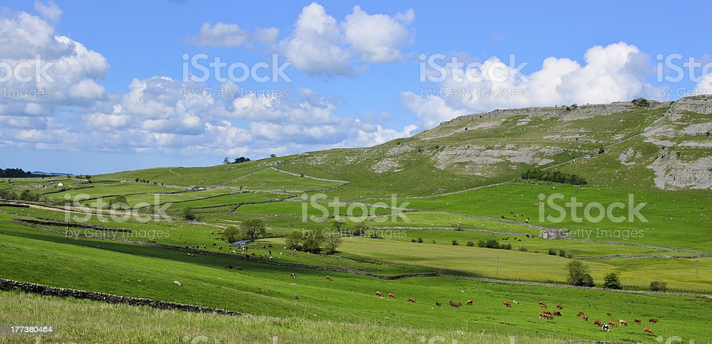 The Yorkshire Dales stock photo