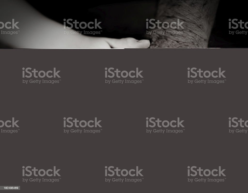 The Young and Old royalty-free stock photo