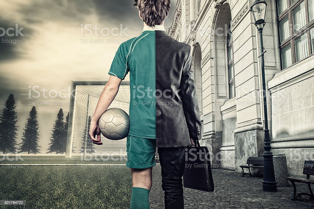 The young businessman stock photo