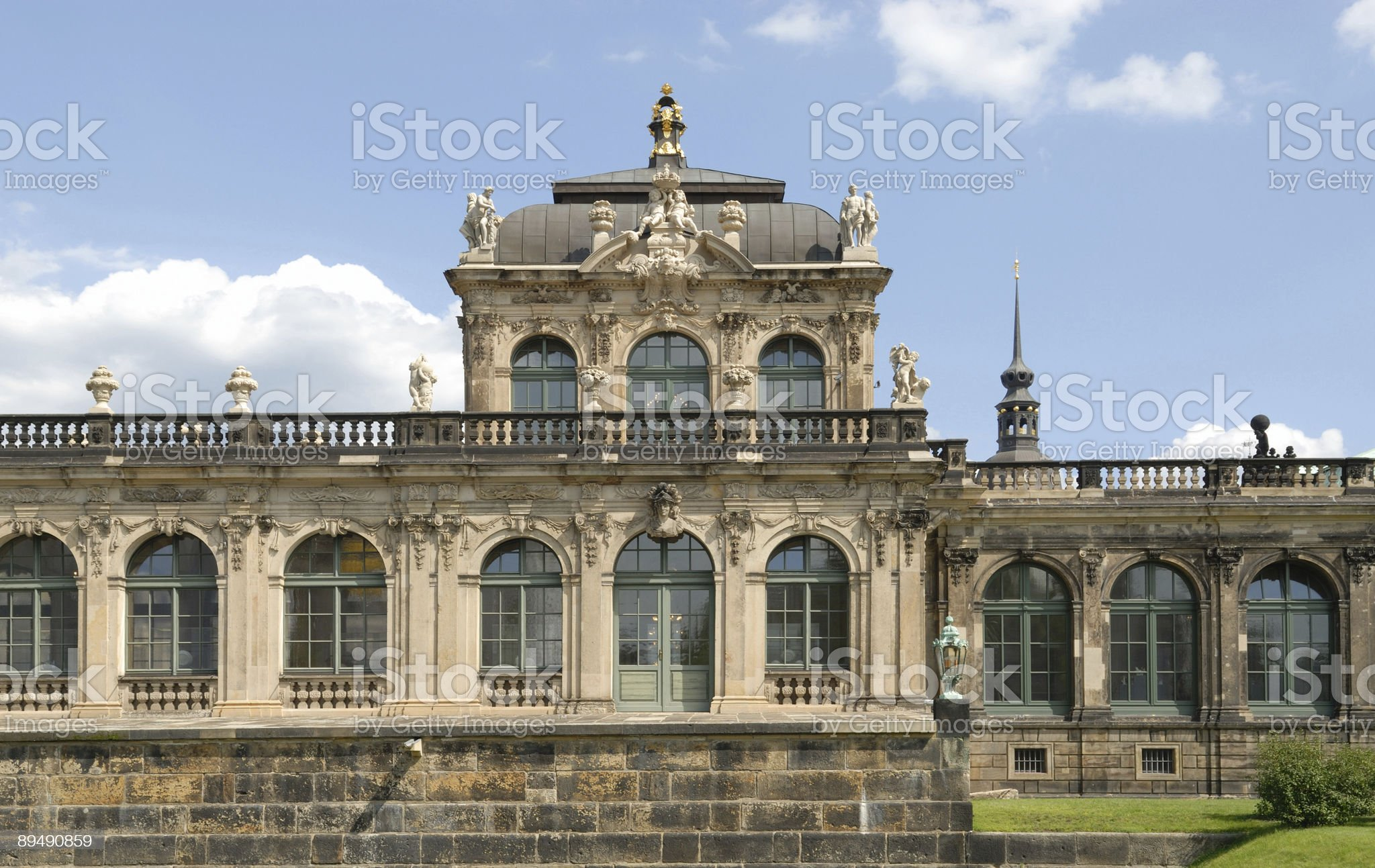 The Zwinger, Dresden royalty-free stock photo