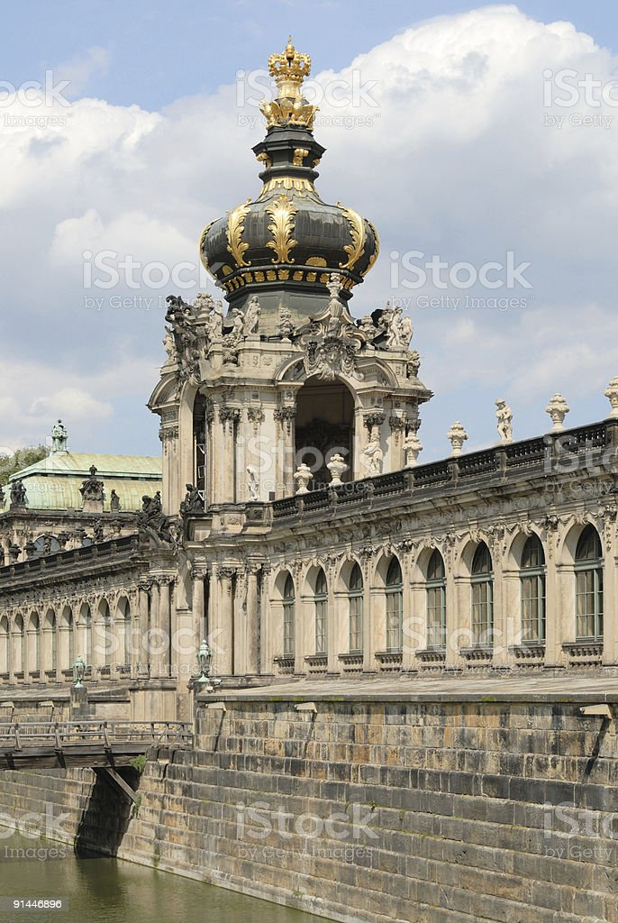 The Zwinger Dresden royalty-free stock photo