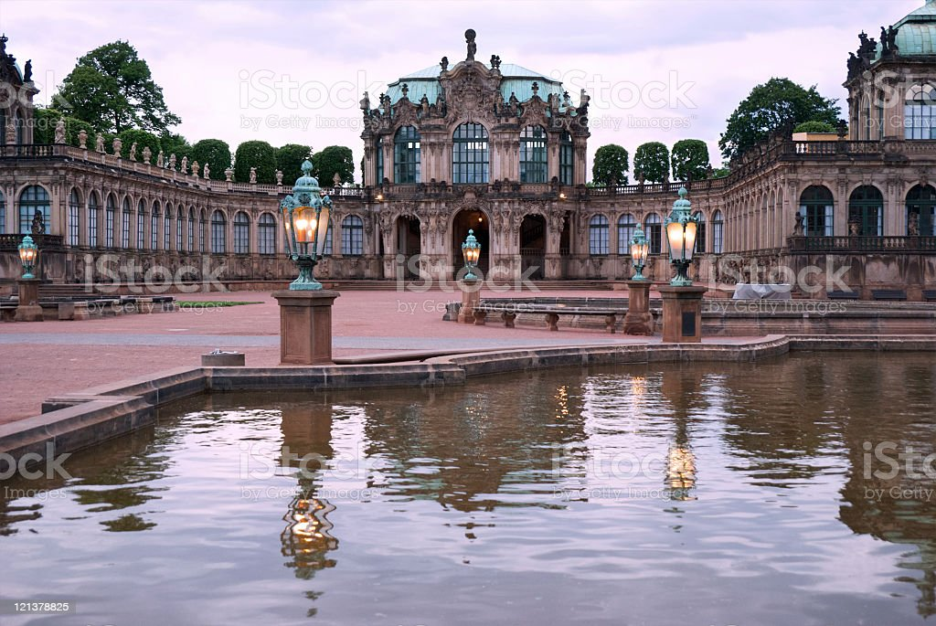 The Zwinger stock photo