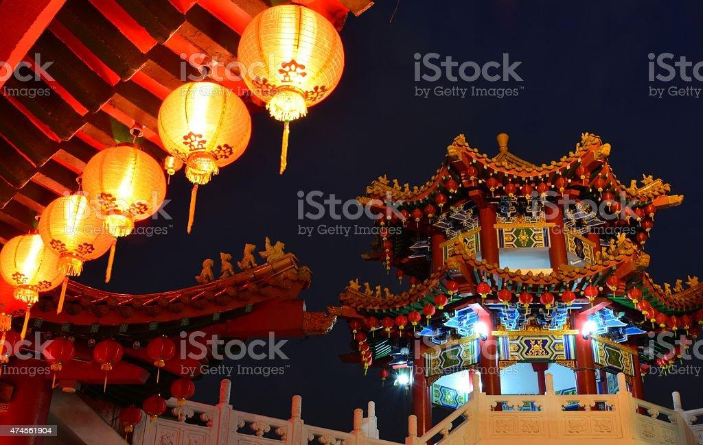 Thean Hou Temple in Kuala Lumpur, Malaysia stock photo