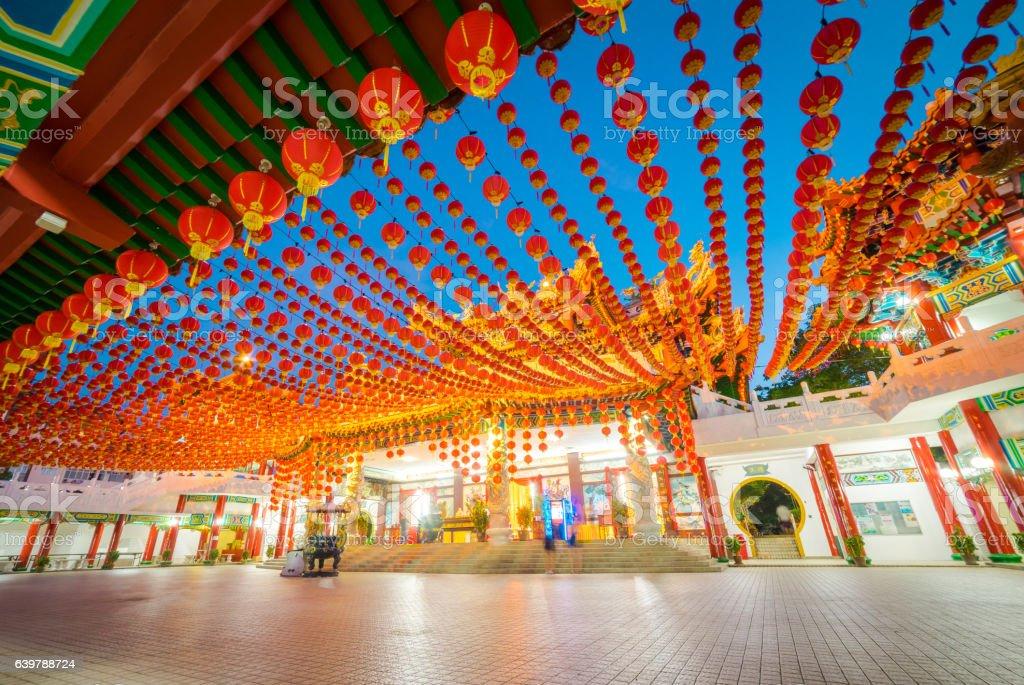 Thean Hou Temple in Kuala Lumpur Malaysia stock photo