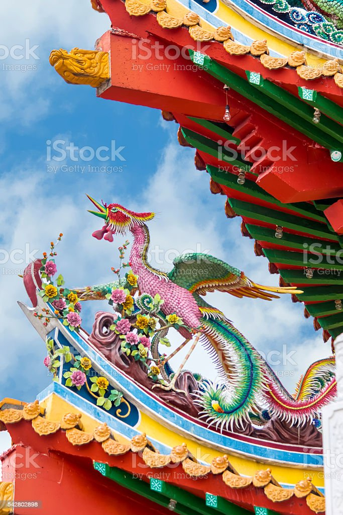 Thean Hou Temple in Kuala Lumpur stock photo