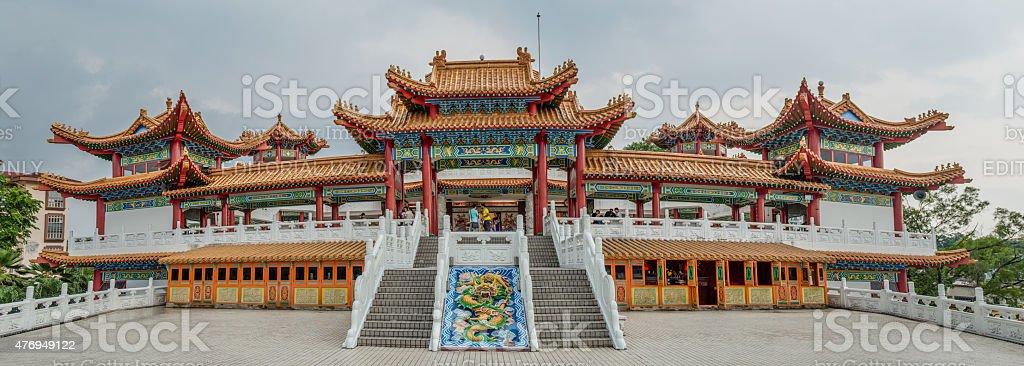 Thean Hou Temple stock photo