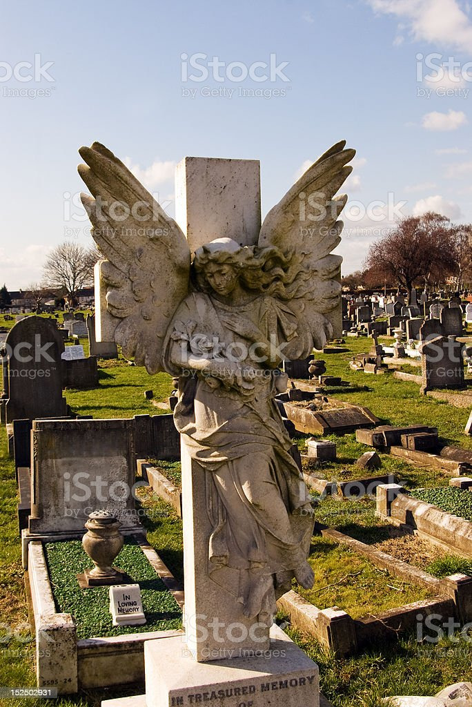 theAngel royalty-free stock photo