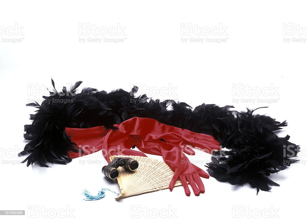 theater accessories royalty-free stock photo
