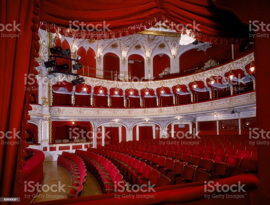 Theater audiotorium royalty-free stock photo