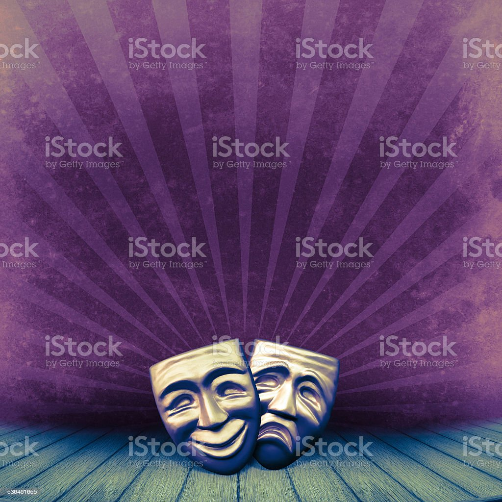 Theater concept stock photo