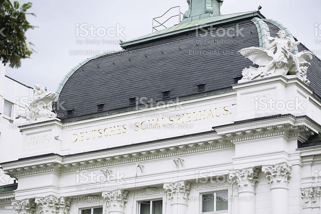Theater Deutsches Schauspielhaus Hamburg royalty-free stock photo
