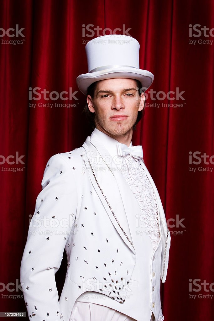 Theater performer royalty-free stock photo