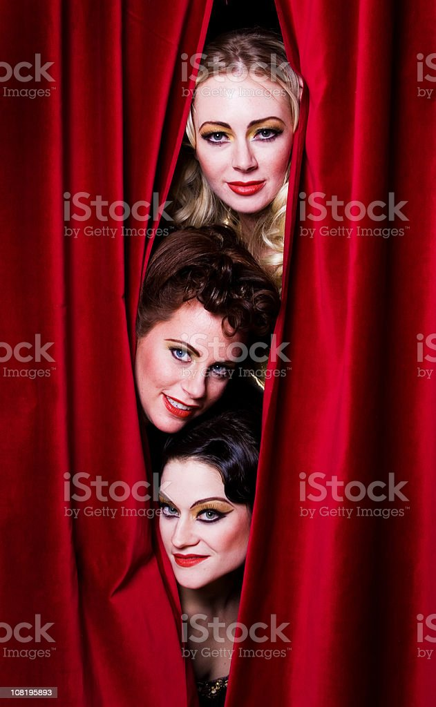 Theater performers royalty-free stock photo