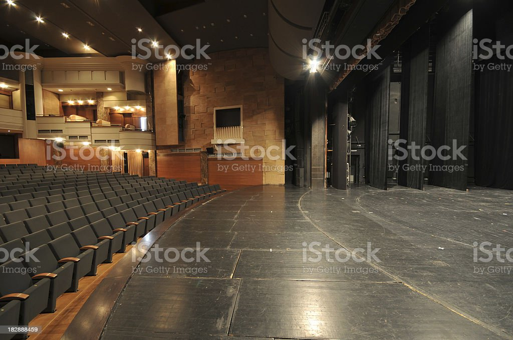 Theater royalty-free stock photo