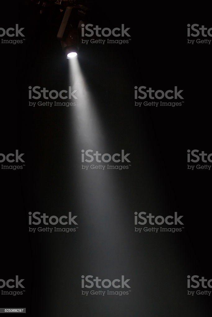 theater spotlight stock photo