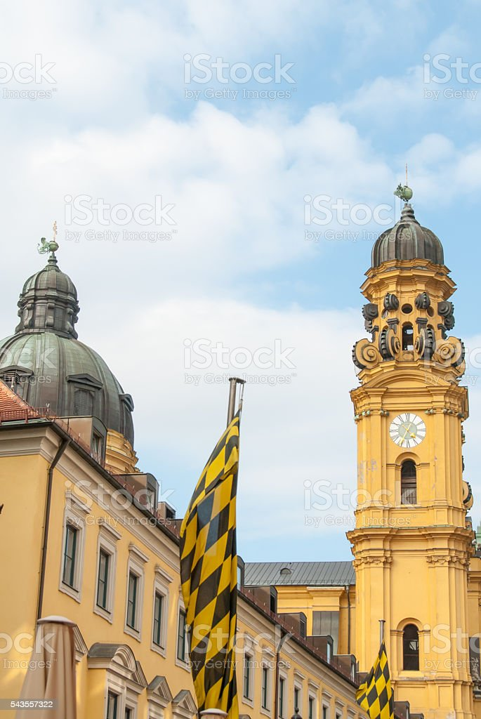 Theatine Church II stock photo