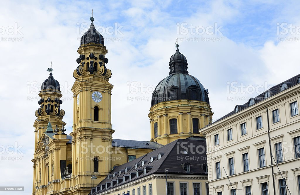 Theatine Church stock photo